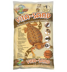 Sable repti-sand Zoo Med désert rouge 2,5 ou 4,5Kg