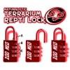 Cadenas à chiffre pour terrarium ReptiLock Zoo Med