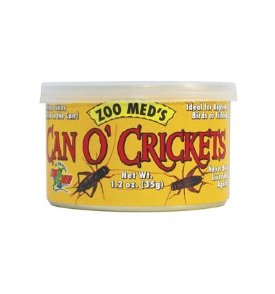 Conserve grillons 35 grammes Can O' Crickets