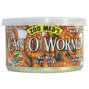 Conserve de vers farine 35g - Zoo Med Can O' Worms