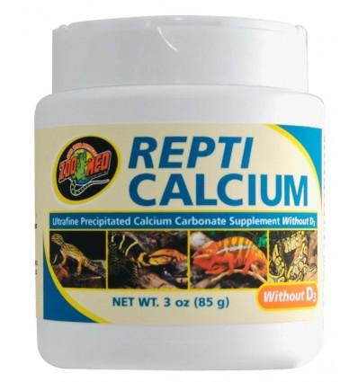 REPTI CALCIUM® sans vitamine D3 85 grammes de Zoo Med
