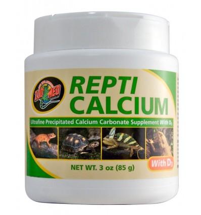 REPTI CALCIUM® avec vitamine D3 85 grammes de Zoo Med
