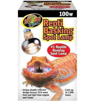 Lampe chauffante Basking Spot Zoo Med pour terrarium