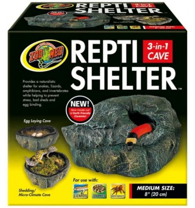 Grotte chauffante pour reptiles Zoo Med