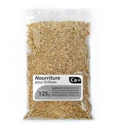 Alimentation sèche Calcium+ pour grillons (125g)