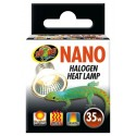 Lampe halogène chauffante 35w Nano Zoo Med pour terrarium