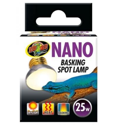 Lampe Nano Basking Spot 25w Zoo Med pour terrarium