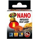 Lampe nocturne infrarouge chauffante 25w Nano RS-25N Zoo Med pour terrarium
