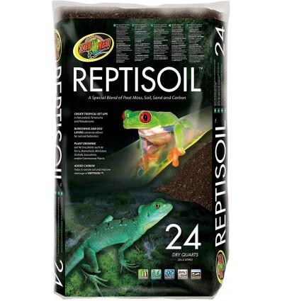 Reptisoil de ZooMed, litière écorce bioactive 23L pour reptile