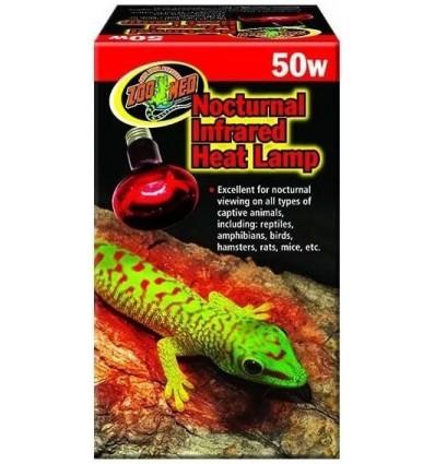 Lampe de nuit infrarouge Zoo Med pour terrarium