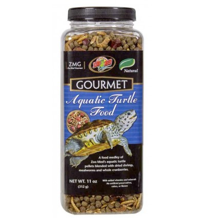 Aliment Gourmet pour tortues aquatiques - 340g Zoo Med