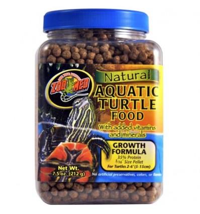 Nourriture naturelle pour tortues aquatiques croissance Zoo Med - 369g