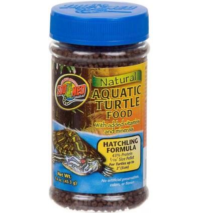 Nourriture naturelle pour tortues aquatiques nouveau-nés Zoo Med - 45g