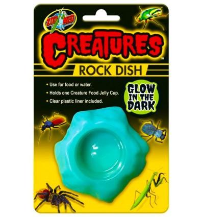 Gamelle fluorescente Zoo Med Creatures pour insectes