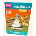 Lampe D3 UV Basking 80w haute performance Arcadia Reptile